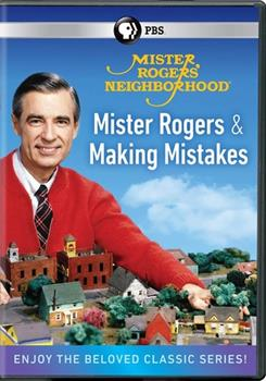 DVD Mister Rogers Neighborhood: Mister Rogers and Making Mistakes Book
