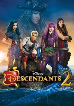 DVD Descendants 2 Book