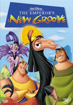 DVD The Emperor's New Groove Book
