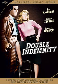 DVD Double Indemnity Book