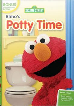 DVD Elmo's Potty Time Book