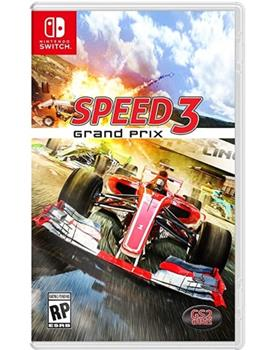 Game - Nintendo Switch Speed 3 Grand Prix Book