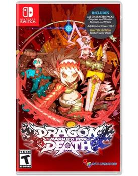 Game - Nintendo Switch Dragon Marked For Death Book