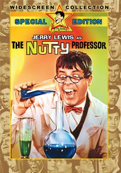 DVD The Nutty Professor Book