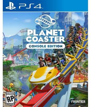 Game - Playstation 4 Planet Coaster Book