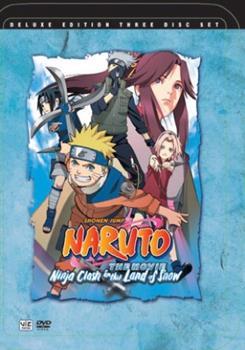 DVD Naruto the Movie: Ninja Clash in the Land of Snow Book