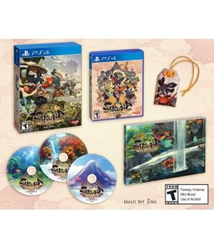Game - Playstation 4 Sakuna: Of Rice And Ruin Devine Edition Book