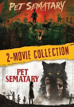 DVD Pet Sematary Two-Film Collection Book