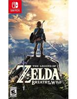 Legend of Zelda: Breath of the Wild Book Cover