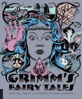 Classics Reimagined, Grimm's Fairy Tales 1592539076 Book Cover