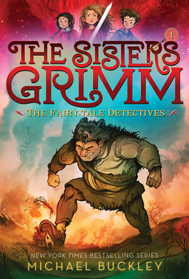 The Fairy-Tale Detectives (the Sisters Grimm #1... 1419720058 Book Cover