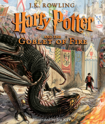 Harry Potter and the Goblet of Fire - Book #4 of the Harry Potter
