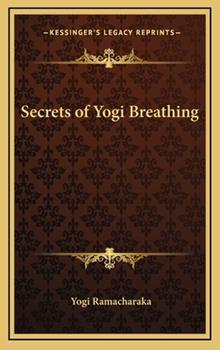 Hardcover Secrets of Yogi Breathing Book