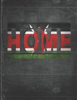 Paperback Home: Kenya Flag Personalized Retro Gift for Kenyan Retired Coworker Friend Party Undated Planner Daily Weekly Monthly Calen Book