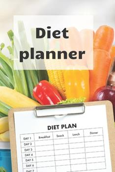 Paperback Diet Planner: Weight loss planner and tracker help in getting the best version of Yourself, become a new me! Book