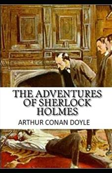 Paperback The Adventures of Sherlock Holmes Illustrated Book