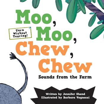 Hardcover Moo, Moo, Chew, Chew: Sounds from the Farm Book