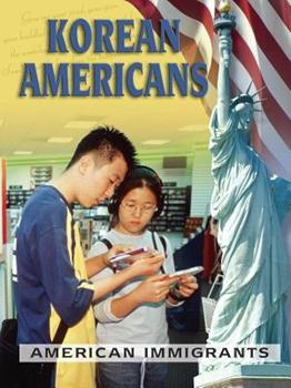 Library Binding Korean Americans (American Immigrants) Book