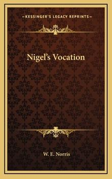 Hardcover Nigel's Vocation Book
