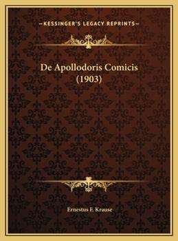 Hardcover De Apollodoris Comicis Book
