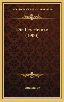 Hardcover Die Lex Heinze Book