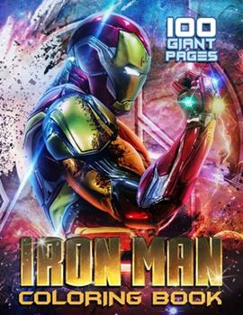 Paperback Iron Man Coloring Book: Lovely Gift for your Kids! Book