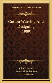 Hardcover Cotton Weaving and Designing Book