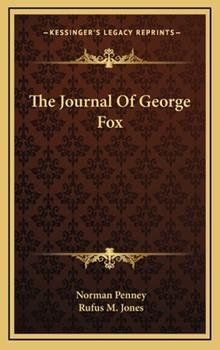 Hardcover The Journal of George Fox Book
