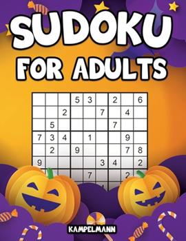 Paperback Sudoku for Adults: 200 Sudoku Puzzles for Adults with Solutions - Large Print - Halloween Edition [Large Print] Book