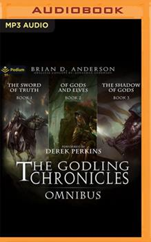 The Godling Chronicles Omnibus: Books 1-3 - Book  of the Godling Chronicles