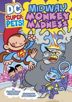 Midway Monkey Madness - Book  of the DC Super-Pets