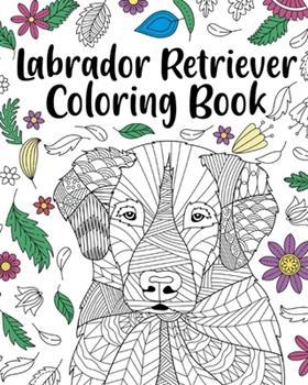 Paperback Labrador Retriever Coloring Book
