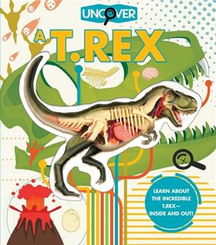 Hardcover Uncover a T. Rex Book