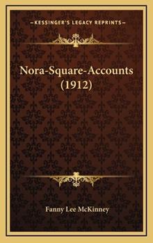 Hardcover Nora-Square-Accounts Book