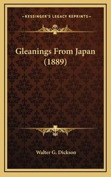 Hardcover Gleanings from Japan Book