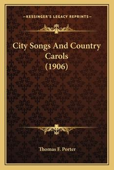 Paperback City Songs and Country Carols Book
