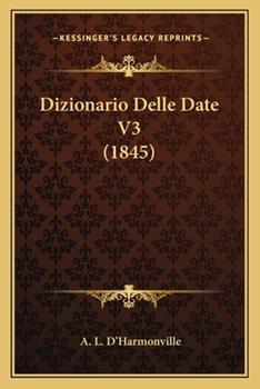 Paperback Dizionario Delle Date V3 Book