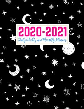 Paperback 2020-2021 Daily Weekly and Monthly Planner: Handy Two Year Jan 1, 2020 - Dec 31, 2021 Calendar Organizer and Appointment Schedule Agenda Journal for ... - 24 Months Planner - Creative AG 0039 Book