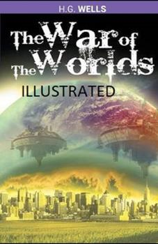 Paperback The War of the Worlds Illustrated Book