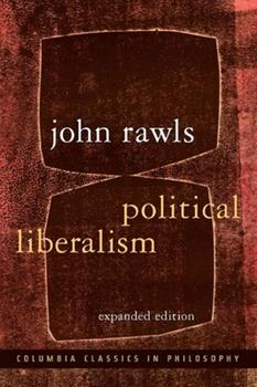 Political Liberalism 0231130899 Book Cover