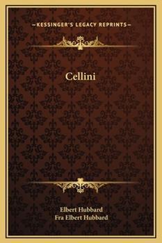 Hardcover Cellini Book