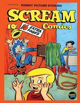 Paperback Scream Comics #15 Book