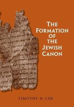 The Formation of the Jewish Canon - Book  of the Anchor Bible Reference Library