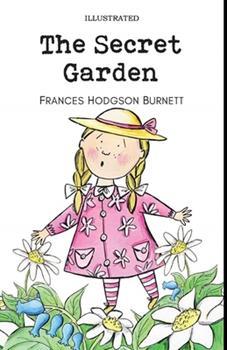 Paperback The Secret Garden Illustrated Book
