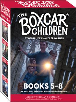 Paperback The Boxcar Children Mysteries Boxed Set #5-8 Book