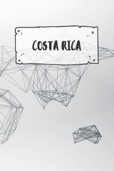 Paperback Costa Rica : Dotted Travel Diary Notebook or Journey Dotted Grid Journal - Holiday Trip Pocketbook for Men and Women with Dots Book
