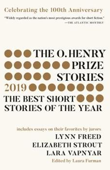 The O. Henry Prize Stories 2019 0525565531 Book Cover