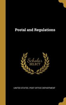 Hardcover Postal and Regulations Book
