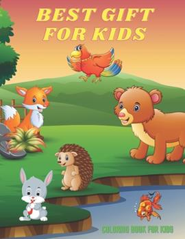 Paperback BEST GIFT FOR KIDS - Coloring Book For Kids: Sea Animals, Farm Animals, Jungle Animals, Woodland Animals and Circus Animals Book