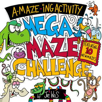 Paperback A-Maze-Ing Activity: Mega Maze Challenge Book